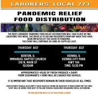 Pandemic Relief Food Distribution