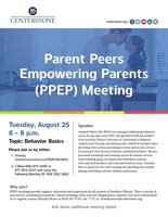 Parent Peers Empowering Parents Meeting